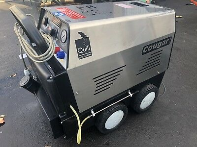 Quill Cougar Industrial Hot Mobile Pressure Washer