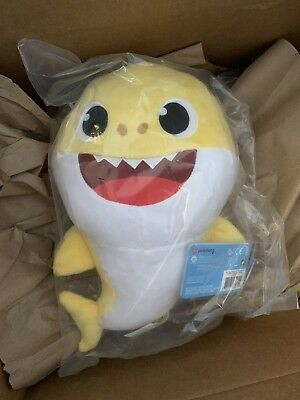Pinkfong Baby Shark Official English Song Doll - Baby Shark - by WowWee
