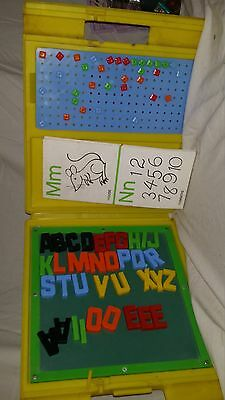 Vintage toy magnetic board