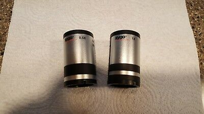 2 Zygo Zoom Tube Assemblys, 1X and 0.5X Nominal, Newview 6000