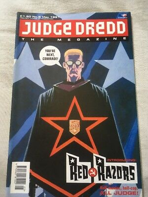 JUDGE DREDD	The Megazine	no.	8	May	1991