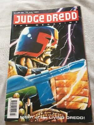 JUDGE DREDD	The Megazine	no.	10	Jul	1991
