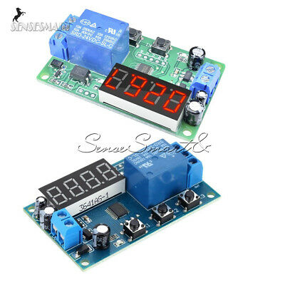 JENOR Trigger Cycle Minuterie temporisateur 12 V 24 V Module Relay Switch Module 24 heures