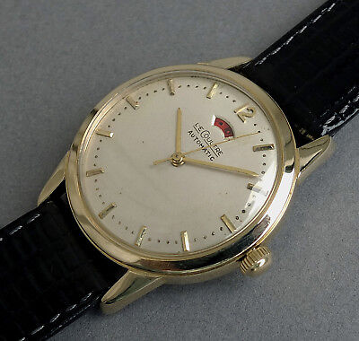 JAEGER LECOULTRE POWERMATIC 14K Solid Gold Automatic Gents Watch 1949
