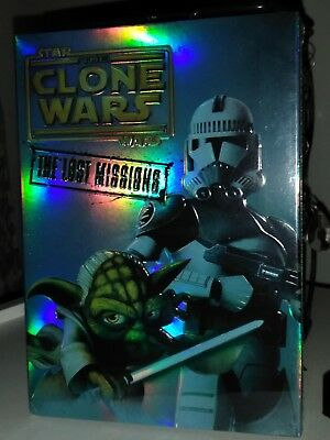 STAR WARS: The Clone Wars - The Lost Missions - 3-Disc Set FREE SHIPPING