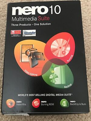 Nero Multimedia Suite 10 new & Sealed