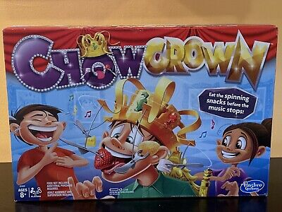 Hasbro Chow Crown Game Family Fun Interactive Multiplayers BRAND NEW