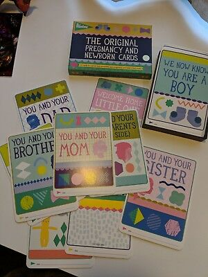 Milestone Pregnancy And Newborn Cards, 30 Cards, New