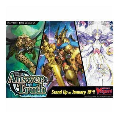 V-EB04 The Answer Of Truth English Extra Booster Box Cardfight Vanguard