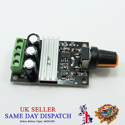 3A DC 6V 12V 24V 28V Motor Speed Control Regulator MO PWM Module Switch