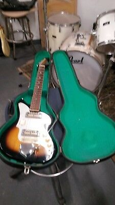 1960's ZENON AUDITION GOLD FOIL GUITAR TEISCO, KAY FREE SHIPPING WOOLWORTHS