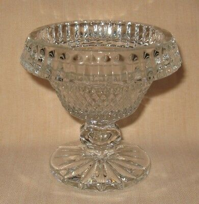 Waterford Crystal Miniature Footed Round Bowl, Excellent