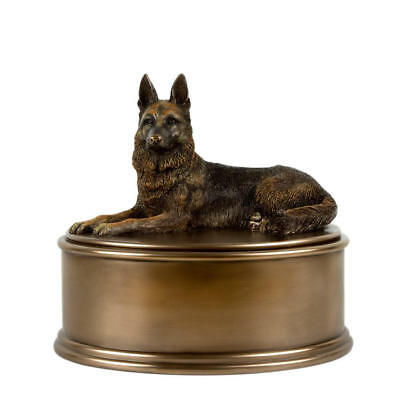 Perfect Memorials German Shepherd Figurine Cremation Urn