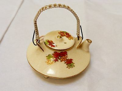 Japanese Antique Satsuma Mini Teapot