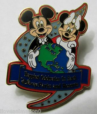 Disney Energizer Disney Parks Happiest Celebration On Earth Mickey Mouse Pin