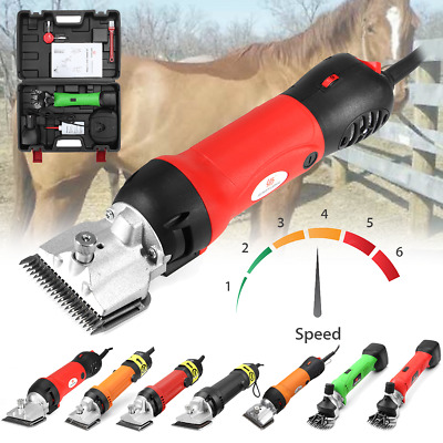Horse Sheep Goat Clipper Trimmer Animals Hair Shaver Cordless Shearing Machine