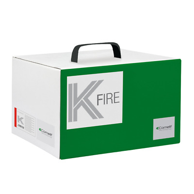 43Kit002 Comelit Kit Anti-Incendie Central Conventionnel 2 Zone