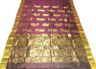 PURE SILK  KANCHIPURAM  SAREE (Silk Mark certified 100% Natural silk sari)