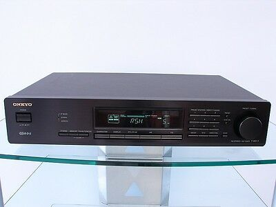 Onkyo T-4511 High-End Stereo Tuner with RDS - Reception + Accessories, 12 Months