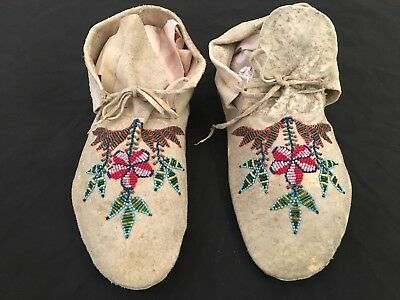 Easter Sioux (Dakota) Native American Moccasins