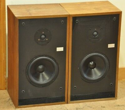 Rare Vintage Fried A/3A Stereo Speakers - Re-Foamed by MillerSound