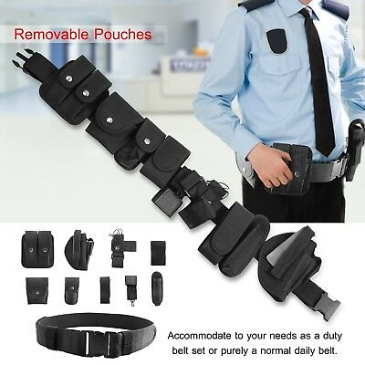 800 Nylon Tactical Police Security Guard Belt Modular Enforcement Equipment Duty