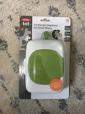 Oxo Tot On-The-Go Dispenser For Small Wipes Gray