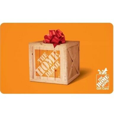 $25 The Home Depot Physical Gift Card - Standard 1st Class Mail Delivery
