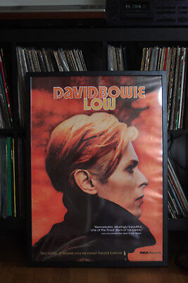 DAVID BOWIE REPRO LOW POSTER 50x70cm Berlin Glam