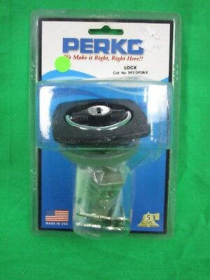 Perko Flush Lock and Latch 0931DP2BLK