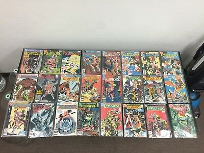 DC Comics: The Warlord Partial Comic Lot of 36 Comics! A few never been opened!!