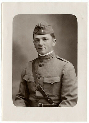 Original WWI Photo US Army Medical Corps Soldier