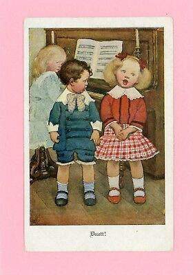 Children - Vintage Postcard