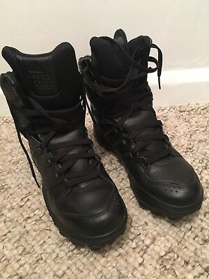 ADIDAS Army Black Boots Military Combat Size UK 8