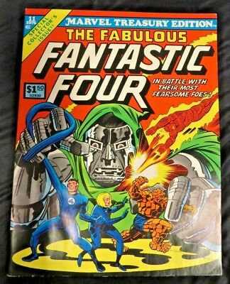 Marvel Treasury Edition The FABULOUS FANTASTIC FOUR #11  1976