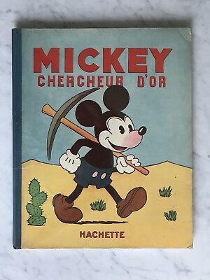Mickey: Rare EO 31 Mickey Chercheur D'or Comme Neuf