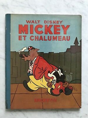 Mickey: Très Rare EO 1940 Mickey Et Chalumeau Comme Neuf