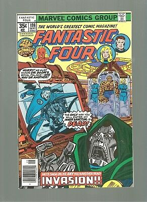 Fantastic Four #198  High Grade 9.8  Copy  Dr Doom Cover