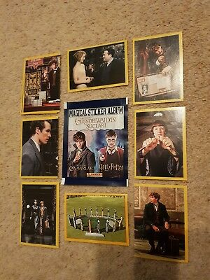 Panini Fantastic Beasts 2 Crimes Of Grindelwald /Harry Potter 10 Stickers for £1