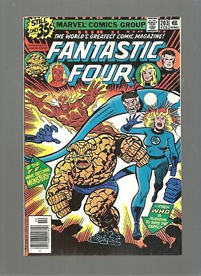 Fantastic Four #203  High Grade 9.4  Copy