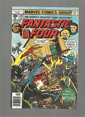 Fantastic Four #185  High Grade 9.6 Copy  1St Nick Scratch