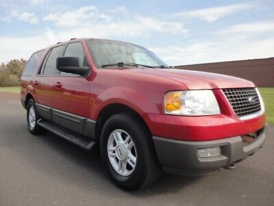 2003 Ford Expedition XLT 2003 FORD EXPEDITION XLT SUNROOF V8 2ND ROW BENCH 3RD ROW SEATING CLEAN CARFAX