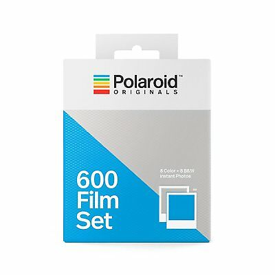 Polaroid Originals 600 Color and B&W Instant Film Set, 4844