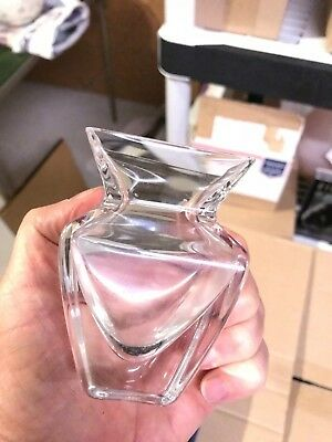 """Cristal Sevres (Crystal) Square 5.25"""" Posy Vase - Made in France"""