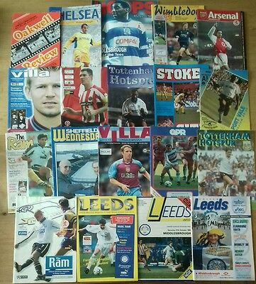 19 Different 1980s-00s Middlesbrough Away Programmes All Listed - Bulk 11