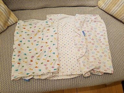 Gro Company Swaddles, 0-3 months, Set of 3