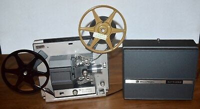 Bell & Howell Super 8mm Autoload Movie Film Projector Model357BFully Tested #3