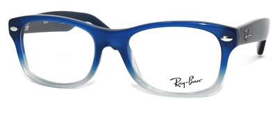 ba643662713 New Authentic Ray Ban Eyeglasses Kids Ry1528 3581 Opal Blue Faded 46-16-125