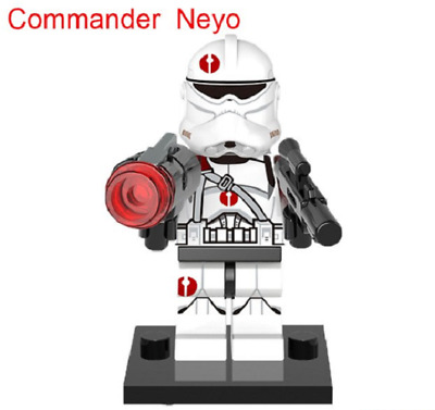 Mini Figurine NEW Fits  Star Wars Commander Neyo
