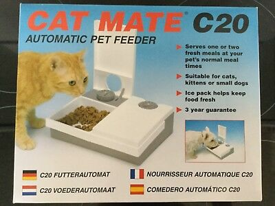 Cat Mate C20 Automatic Pet Feeder HY 76949